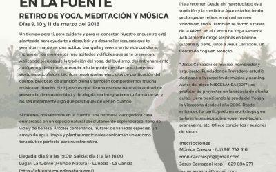 Encuentro en LaFuente | Retiro de Yoga, Meditación y Música
