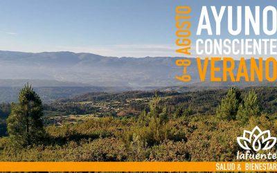 AYUNO CONSCIENTE DE VERANO | 6 al 8 AGOSTO 2021